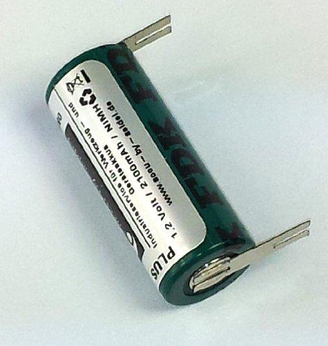 Ersatz-Akku (OB21) für elektrische Zahnbürste, geeignet für Braun Oral B Professional Care 9500 Serie -NiMH- 2100mAh