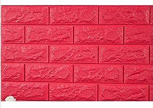 PE Foam 3D DIY Wall Decor Brick Pattern Sticker Panel for Living Room Kids Bedroom