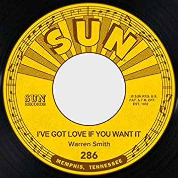 I've Got Love if You Want It / I Fell in Love