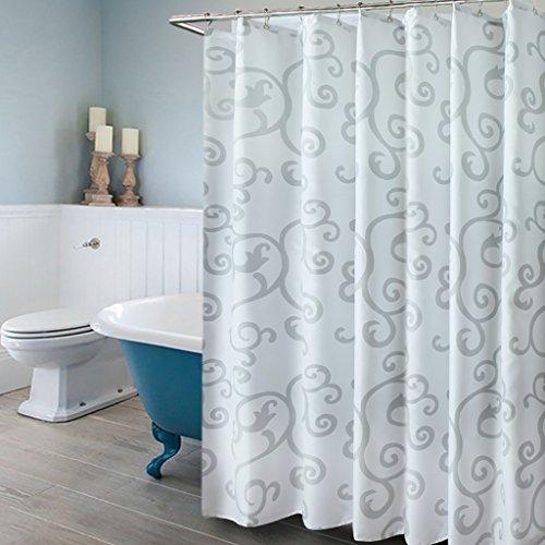 Rideaux de douche Rideau de douche salle de bain imperméable à l'eau mildiou hôtel rideaux de douche polyester douche rideau partition rideau Rideaux de douche de haute qualité