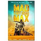 DNJKSA Mad Max - Fury Road Filmkunst Poster Druck auf