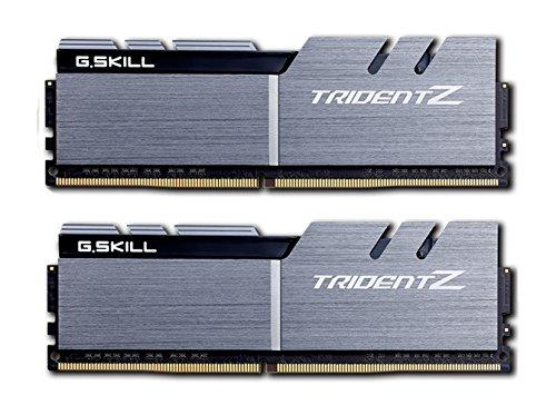 G. Skill F4–3200 C14d-16gtzsk 16 GB (8 GB X 2) DDR4 Trident Z 3200 MHz PC4–25600 Kit doppio canale CL14 - Silber / Schwarz