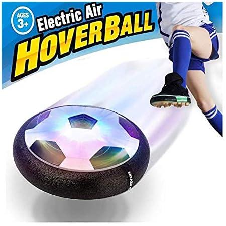 Maxesla Air Soccer Disk Hover Fußball Training Fußball für Jungen Mädchen Kinder, LED schwimmender Fußball für Kinder drinnen und draußen, fantastisches Geschenk