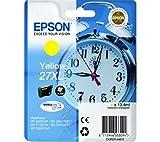 Epson C13T27144010 Cartouche d'encre jaune pour WorkForce WF-3600 Series/3620 DWF/WF/7110 DTW/7600 Series/7610 DWF/7620 DTWF