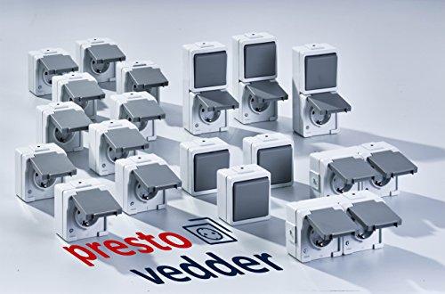 System 9365 Steckdosen-Kombipack von Presto Vedder (VKP9365)