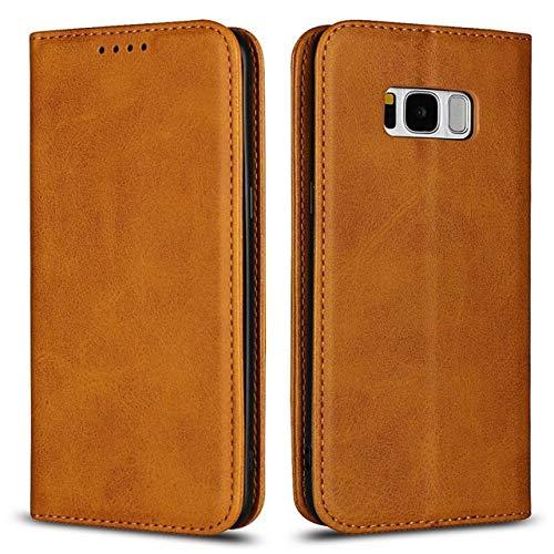 JINYIWEN Telefoon case voor samsung galaxy s8 magnetische gevallen s8 plus lederen cover portemonnee flip zachte innerlijke achterkant mobiele telefoon tas accessoire-voor samsung s8-b