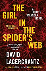 This one is the story of  a journalist, Mikael Blomkvist, and the GIRL. Lisbeth Salander is featured in all the books and is a central character. She's a little (okay a lot) odd, a computer hacker genius, and really a genius in many ways. This story has Mikael and Lisbeth involved with hacking into NSA computer systems and trying to solve the murder of one of the originators of a grand computer scheme. Check the blog post for more details!