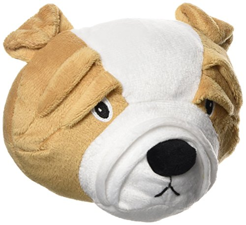 The Bulldog by Zeus, Interactive Dog Toy for Large & Small Dogs, Durable...