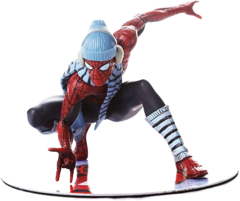 Vuelta de 10 dias ZSIF Modelo Spider-Man, Estilo estático súperhéroe Marvel, Combate de de de Invierno, Juguete Vengadores Spider-Man.  toma