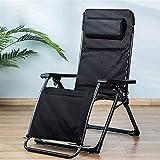 Sillas largas y sillones para exteriores, cama plegable con cojín, silla Zero Gravity para la playa, piscina, exterior, patio, jardín, camping, c2016 With Cushion