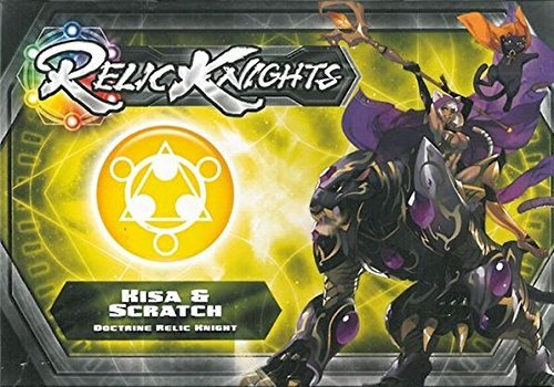 Relic Knights: Dark Space Calamity: Kisa and Scratch