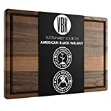 Large Walnut Wood Cutting Board by Virginia Boys Kitchens -...