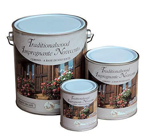 Cera Novecento 9078 Traditionalwood Impregnante, Noce Scuro, 750 ml