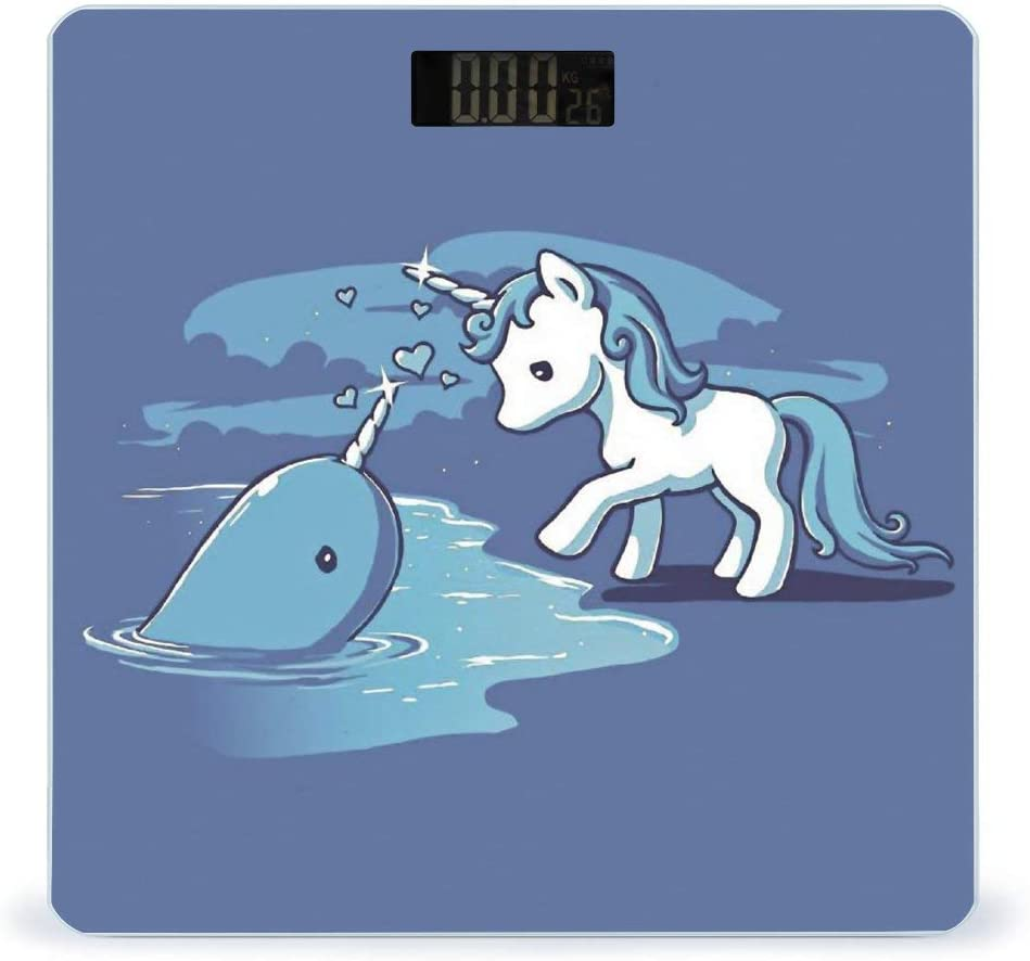Today's only CHUFZSD Cheap mail order shopping Unicorns Highly Accurate Smart Fitness Weight Digi Scale