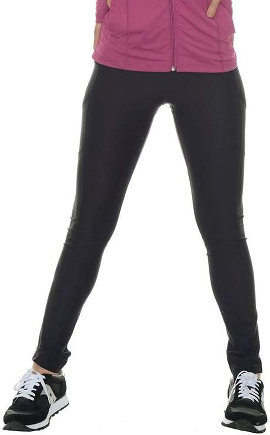 BloqUV Women's Compression No Stripe Long Tight Pants