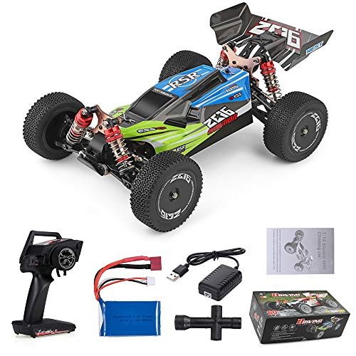 Goolsky Wltoys XKS 144001 RC Car 60km / h High Speed 1/14 2.4GHz RC Buggy 4WD Racing off-Road Drift Car RTR