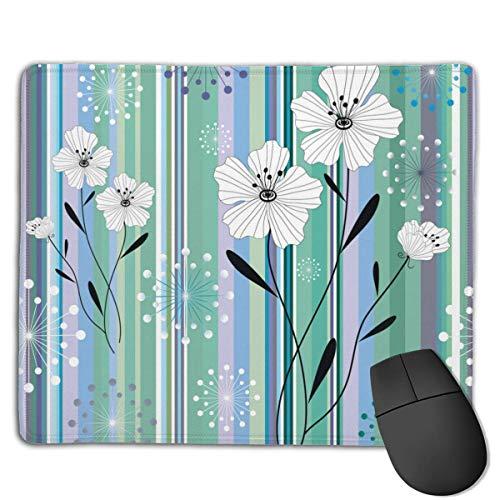 Comfortabele Muis Mat Pad Bloemen Behang Niet Slip Rubber Base Mousepad voor Alle soorten Muis Laptop Computer PC