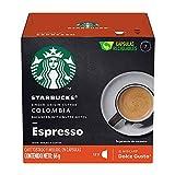 Starbucks by Nescafé Dolce Gusto,Single Origin Colombia Espresso 12 cápsulas