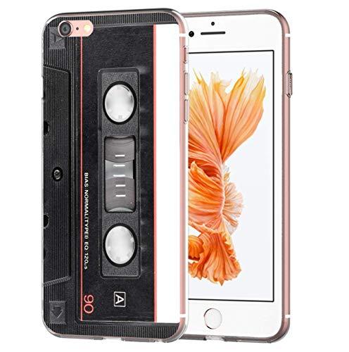 blitzversand Handyhülle MC Kassette Tape Cassette kompatibel für iPhone 11 Hard Rock Schutz Hülle Case Bumper transparent M10