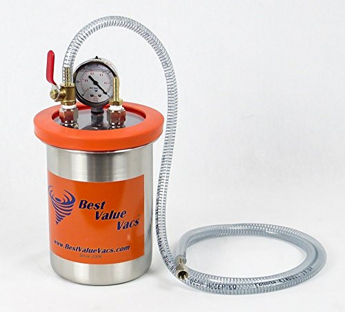 2 Quart Resin Trap/ Vacuum & Degassing Chamber