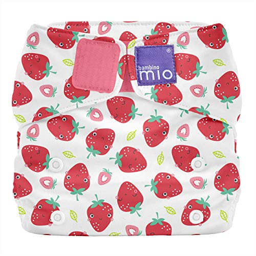 Bambino Mio SO SCR Bambino Mio, miosolo All-in-One Stoffwindel, Erfrischende Erdbeere, mehrfarbig 165 g