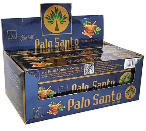 Balaji Incienso Palo Santo 12x15g=180g