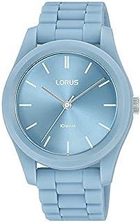 Lorus Womens Analog Quartz Watch with Silicone Bracelet RG237SX9