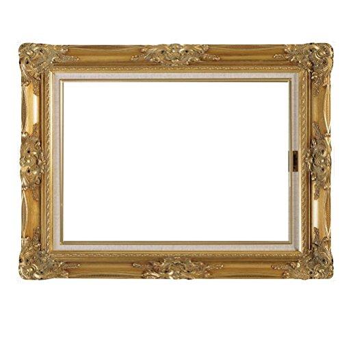 LUOEM Selfie Rahmen Foto Requisiten für Hochzeit Geburtstag Jahrestag (Gold)