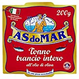 Asdomar Trancio Intero di Tonno all' Olio di Oliva, 200g