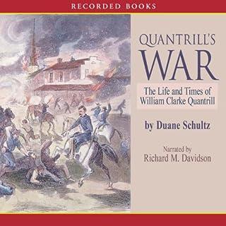 Quantrill's War audiobook cover art