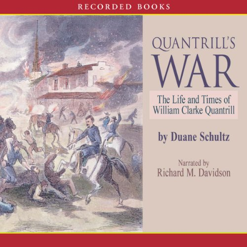 Quantrill's War audiobook cover art