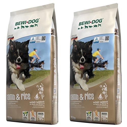 Bewi Dog 2 x 12,5 kg Lamb & Rice