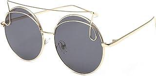 DishyKooker Women Cat-eye Design Sunglasses Fashion Vintage Sunglasses Metal Frame Sunglasses