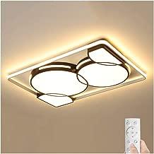 #Lámpara de techo Luz de techo - Lámparas de techo LED de moda Morden regulables, Aluminio de hierro acrílico, Decoración de sala de estar Comedor Iluminación de sala de reunión A++