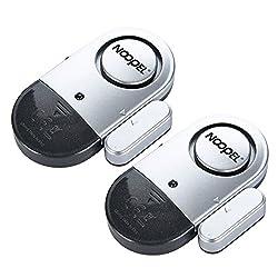 Door Window Alarm 2 Pack Noopel Home Security Wireless Magnetic...