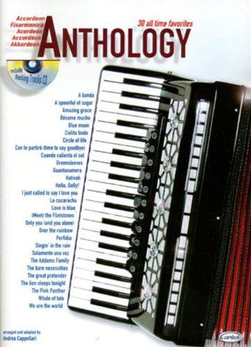 ANTHOLOGY 1 - 30 ALL TIME FAVORITES - arrangiert für Akkordeon - mit CD [Noten / Sheetmusic]