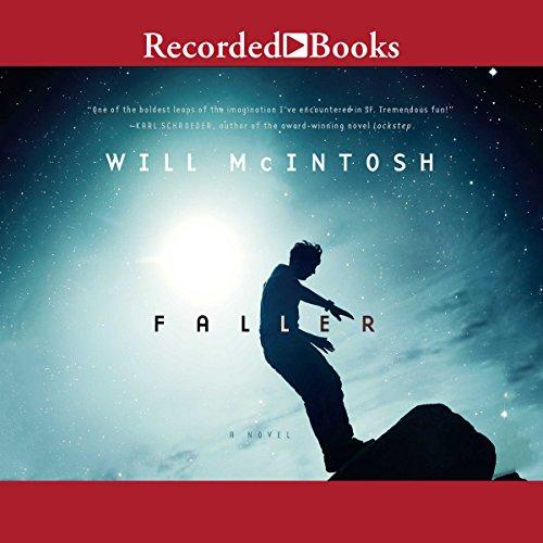 Faller audiobook cover art