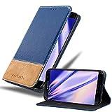 Cadorabo Funda Libro para Samsung Galaxy S7 Edge en Azul MARRÓN - Cubierta Proteccíon con Cierre Magnético, Tarjetero y Función de Suporte - Etui Case Cover Carcasa