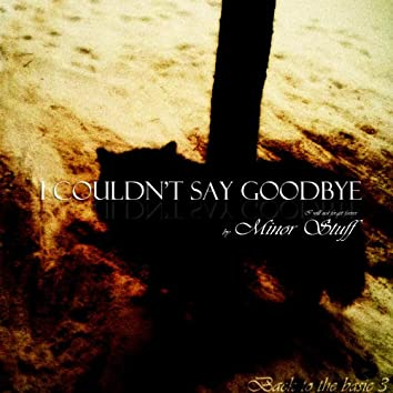 I Couldn't Say Goodbye