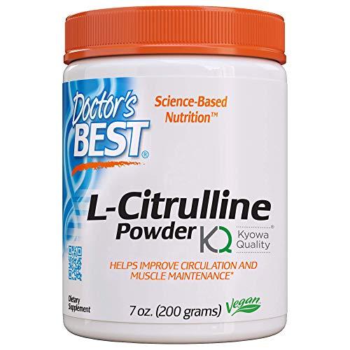 Doctor's Best L-Citrulline, Non-GMO, Vegan, Gluten Free, Soy Free, 200g
