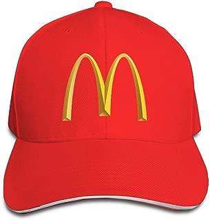 Womens&Mens Adjustable Baseball Caps Peaked Sandwich Hat Sports Outdoors Snapback Cap