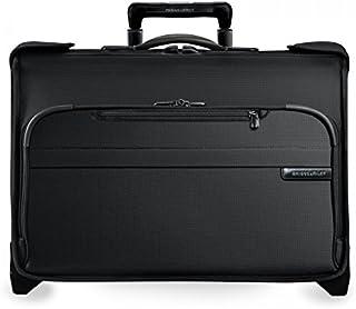 Briggs & Riley U174-4 Luggage Baseline Carry-On Wheeled Garment Bag, Black, Small