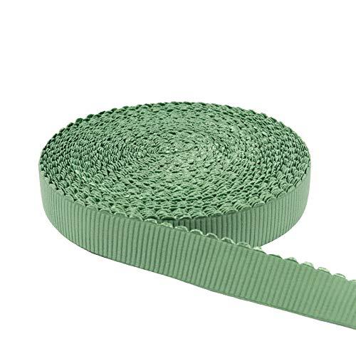 Cinta de goma Ripóptica con borde arqueado de 3,5 cm, cañizo - Precio por 1 metro