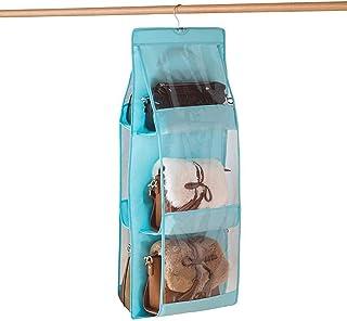 EURYTKS Boîtes de Rangement pour étagères avec fenêtre Transparente, Panier de Rangement Pliable, Rectangle, Gris, Paquet ...