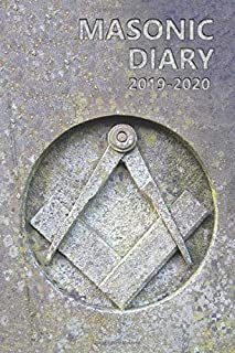 Masonic Diary 2019-2020: Freemason Diary for 2019-2020, Week to View (September to August) Planner (4x6 inch) (Clark Masonic Diaries)