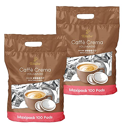 Tchibo Caffè Crema Kaffee-Pads (200 Stück (2x100))