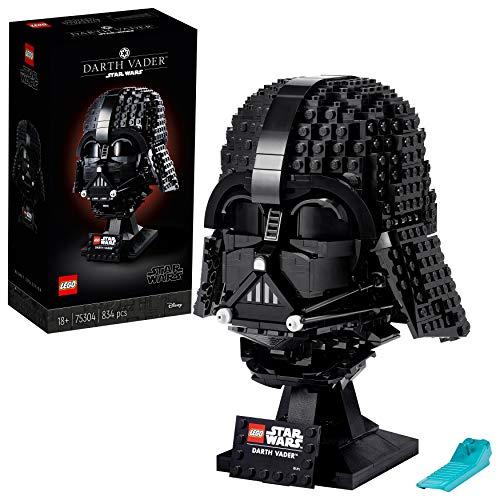 LEGO 75304 Star Wars Darth-Vader Helm Bauset für Erwachsene, Sammlerstück, Geschenkidee, Modell zum Bauen und Ausstellen
