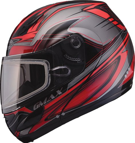 Smoke//One Size GMAX GM44//S Replacement Face Shield Off-Road Motorcycle Helmet Accessories