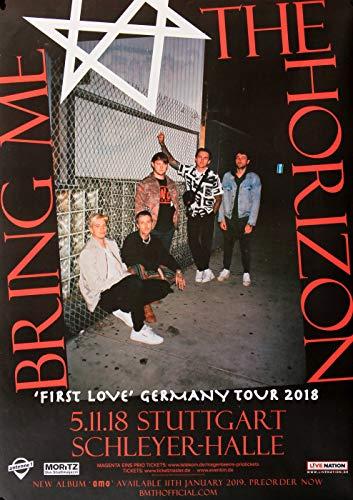 Bring Me The Horizon - First Love, Stuttgart 2018 » Konzertplakat/Premium Poster | Live Konzert Veranstaltung | DIN A1 «