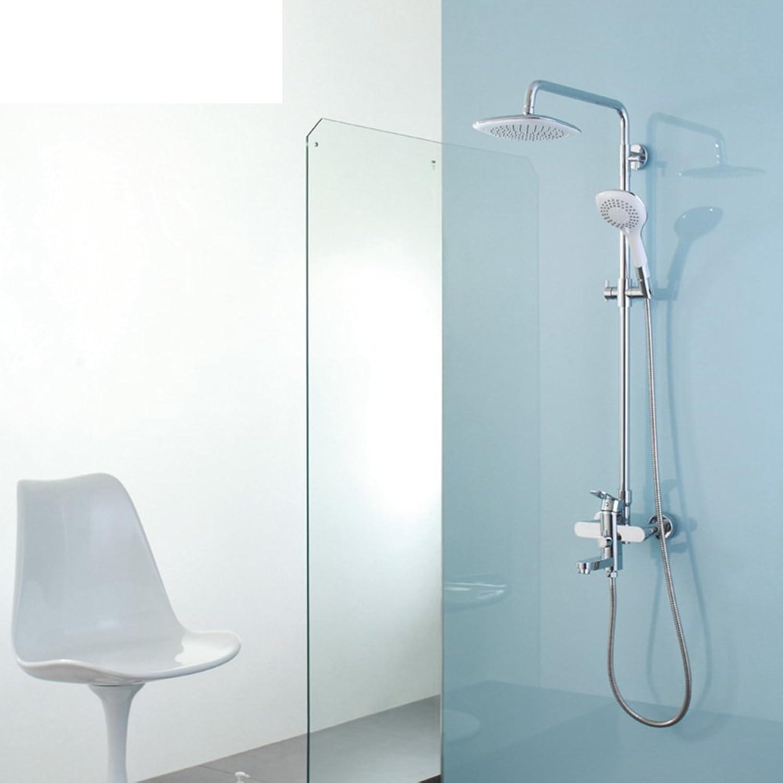 HCP Luxus-Dusche-Kit Dusche Wasserhahn Alle Kupfer heie und kalte Dusche Drei Funktionen
